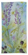 Summer Meadow Bath Towel