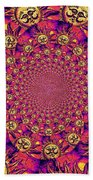 Sun Pattern Bath Towel