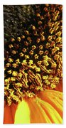 Sunflower Edge Bath Towel