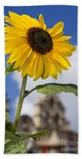 Sunflower In Balboa Park Bath Towel