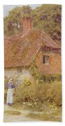 Sunflowers By Helen Allingham Bath Towel