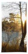 Sunrise Across The Mississippi Bath Towel