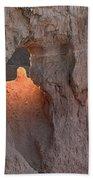 Sunrise Detail Bryce Canyon Bath Towel