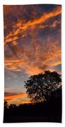 Sunset 07 26 12 Bath Towel