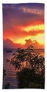 Sunset At The Top-end V2 Bath Towel
