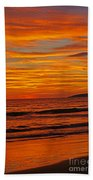 Sunset Colours Bath Towel