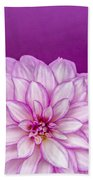Sunset Dahlia 3 Bath Towel