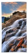 Sunset Falls Landing Bath Towel