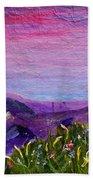 Sunset Lake Hand Towel