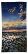 Sunset Over Bound Brook Island Bath Towel