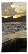 Sunset Over Dubrovnik 2 Bath Towel