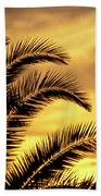 Sunset Palms Bath Towel