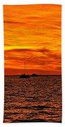 Sunset Xix Bath Towel
