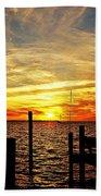 Sunset Xv Bath Towel