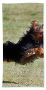 Super Yorkie Bath Towel