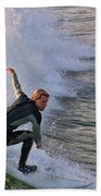 Surfin' The Wave Bath Towel