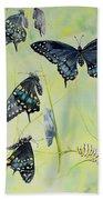 Swallowtail Story Bath Towel