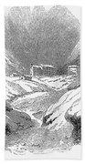 Switzerland: Convent, 1843 Bath Towel