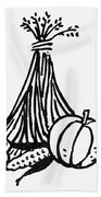 Symbol: Thanksgiving Bath Towel
