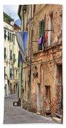 Taggia In Liguria Hand Towel