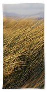 Tall Grass Blowing In The Wind Bath Towel