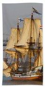 Tall Ship Five Bath Towel