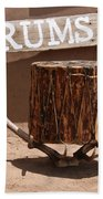 Taos Drum Shop Bath Towel
