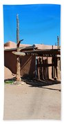 Taos Pueblo Bath Towel