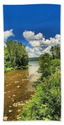 Taughannock Falls Creek Bath Towel