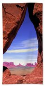 Teardrop Arch Monument Valley Bath Towel