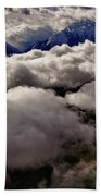 Ten Thousand Feet Over Denali Bath Towel