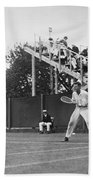 Tennis Player, C1920 Bath Towel