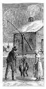 Thanksgiving, 1882 Bath Towel