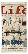 Thanksgiving, 1924 Bath Towel