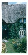 Thatched Roof, England Bath Towel