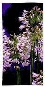 The Beauty Of Flowering Garlic Bath Towel