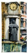 The Black Friar Pub In London Bath Towel