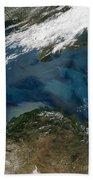 The Black Sea In Eastern Russia Bath Towel
