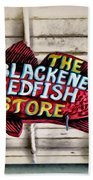 The Blackened Redfish Store Bath Towel