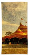 The Circus Is In Town Bath Towel