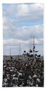 The Cotton Crops Of Limestone County Alabama Bath Towel