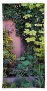 The Courtyard Garden, Fairfield Lodge Bath Towel