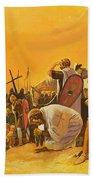 The Crusades Bath Towel