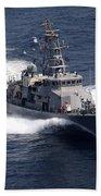 The Cyclone-class Coastal Patrol Ship Bath Towel