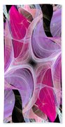 The Dancing Princesses Abstract Bath Sheet