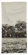 The Delaware River At Bristol Bath Towel