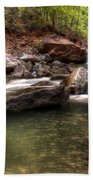 The Falls Virgin River Bath Towel
