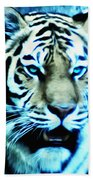 The Fierce Tiger Bath Towel