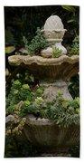 The Fountain Painterly Bath Towel