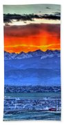 The Great Sunset Hand Towel